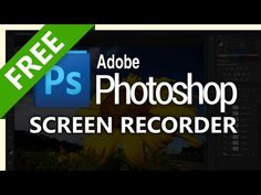 How to screen record Photoshop - YouTube