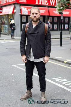 Street fashion или как одеты мужчины Лондона