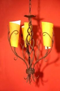 Nyree Triple Chandelier with Glass Off -for a limited of time only- Candle Sconces, Wall Lights, Chandelier, Iron, Candles, Lighting, Glass, Home Decor, Appliques