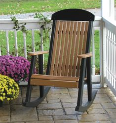Amish LuxCraft Poly Porch Rocker Shop the Entire LuxCraft Poly Collection Clean, modern looks with a classic approach to simple functionality, our Poly Porch Rocker is fit for any porch and offe
