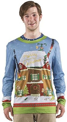 Faux Real Sublimated Mens Christmas Adult Romper
