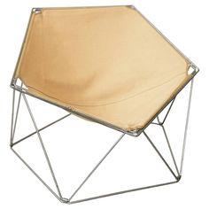 Penta Armchair by Kim Moltzer and Jean-Paul Barray for Bofinger | 1stdibs.com
