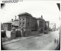 Newtown Courthouse after completion.