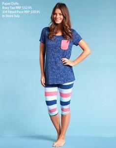 Mitch Dowd - Women's Sleepwear and PJs Sleepwear Women, Pajamas Women, Women's Sleepwear, Teen Girl Fashion, Cute Fashion, Pyjamas, Womens Pjs, Vip Fashion Australia, Cute Pajamas