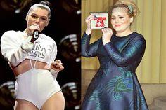 Adele e Jessie J eram amigas na escola e cantavam juntas - http://metropolitanafm.uol.com.br/novidades/famosos/adele-e-jessie-j-eram-amigas-na-escola-e-cantavam-juntas