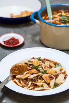 in the kitchen with: eating asia's turkish noodle soup - Design*Sponge