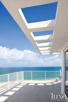The Balcony: Breathtaking Views From Inside Palm Beach Home