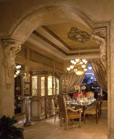 Perla's Own Home - mediterranean - Dining Room - Miami - Perla Lichi Design