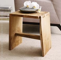 We make our Catanga™ stool from teak tree roots that would otherwise be burned as waste. Each stool is absolutely one-of-a-kind, pieced together from the gigantic gnarly roots of these magnificent trees. The root wood has the same durable properties and golden tone of this justly prized wood. Suitable for indoor or outdoor use—if left outside, the teak will age to a rich charcoal gray. #table #decor #wood #Style