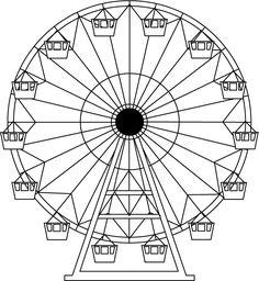 ferris wheel drawing | ferris wheel