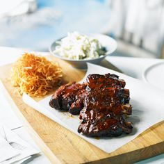 Sticky and sweet ribs are a favourite at every barbecue.