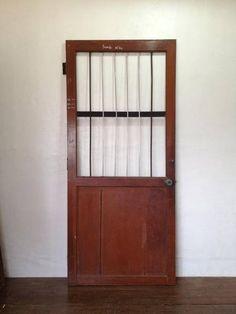 Door 貴重な海外製アンティークドア扉鉄格子シャビー建具 インテリア 雑貨 家具 Antique ¥99500yen 〆09月01日
