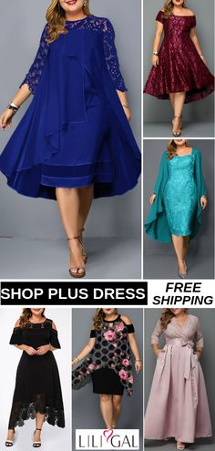 Plus size dresses Plus Size Summer Dresses, Plus Size Dresses, Plus Size Outfits, Pretty Outfits, Pretty Dresses, Cute Outfits, Tall Girl Fashion, Beautiful Cocktail Dresses, Plus Size Fashionista
