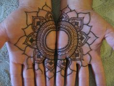 lotus by henna statements, via Flickr