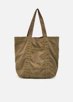 943cb2e64918 Corduroy Tote Bag - One Size   Khaki