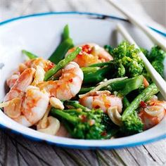 Quick prawn stir-fry
