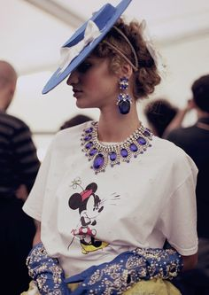 EXCESS ALL AREAS: MEADHAM KIRCHHOFF X LILIEN CZECH  The designers partner with the Czech glass jeweller for SS13 as part of another full-on outing