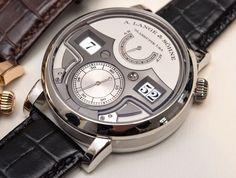 A. Lange and Söhne Zeitwerk Watch