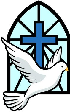 Symbols: Doves are symbolic of the Holy Spirit. The Holy Spirit serves as the inspiration for members of the Church in their everyday lives.