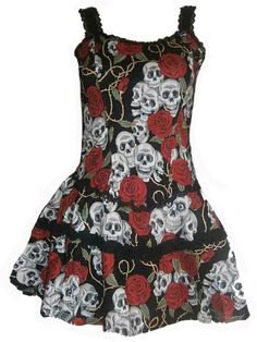 Sale Clearance 45% Off Voodoo Vixen Living Dead Souls Corset Boned Dress Goth BIG SALE NOW ON AT mouseyessim on ebay