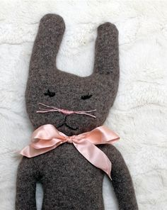 Old Bunny Boo Boo - How to make a bunny for Easter