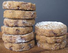 Espresso Chocolate Shortbread Cookies