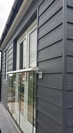 Fibre cement Cedral Weatherboard external cladding is the ideal low maintenance House Cladding, Timber Cladding, Fibre Cement Cladding, Cladding Ideas, Shiplap Cladding, Exterior Paint Colors, Paint Colors For Home, Siding Colors, Exterior Siding