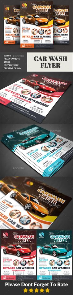 #Car Wash #Flyer - Commerce Flyers