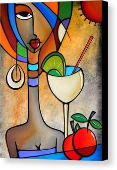 Art 'Cubist 121 3040 W Original Cubist Art Solace' - by Thomas C. Fedro from Cubist Pop Art Collage, Tableau Pop Art, Cubist Art, African Art, African Abstract Art, Art Drawings, Art Projects, Canvas Art, Painting Canvas