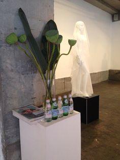 Concept to creation. Isadora gown. #vamff #alexsiscstar #lotus #sanpellegrino #silk #white #gown #bride #wedding #evening