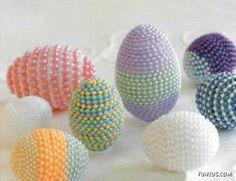 Amazing Artwork on Eggs