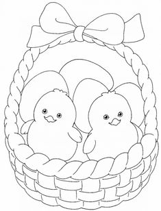 Easter Chicks Coloring Page See the category to find more printable coloring sheets. Also, you could use the search box to find what you want. Easter Coloring Sheets, Spring Coloring Pages, Easter Colouring, Coloring Pages For Kids, Easter Art, Easter Crafts For Kids, Easter Eggs, Cartoon Coloring Pages, Coloring Book Pages