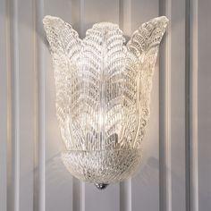 Decorative Crafts Venetian Glass Sconce 7310