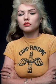 sub-rubique: icon  debbie harry!