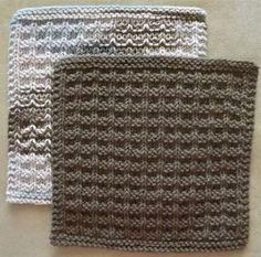 Noni's Favorite Kitchen Dishcloth - Free Knitting Pattern - (ravelry)