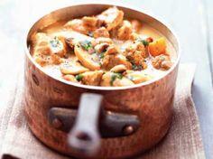 Avec les lectrices reporter de Femme Actuelle, découvrez les recettes de cuisine des internautes : Blanquette de veau à l'ancienne