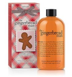 Gingerbread Man #Philosophy  Love this scent!!!!!!!
