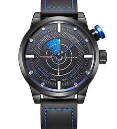 WEIDE New Arrival Men Watches Fashion Casual Quartz Watch Men's Leather Wrist Strap Analog 3ATM Waterproof Sports Wristwatches
