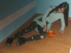 Beautiful Smile Mereine and pumpkin