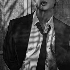 Bts Black And White, Black And White Aesthetic, Kim Taehyung, Namjoon, Daddy Aesthetic, Black Aesthetic Wallpaper, Bts Pictures, Foto Bts, Bts Boys