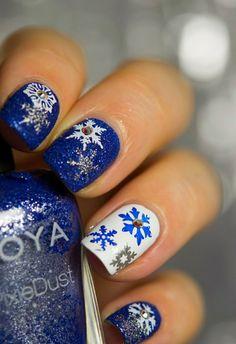 nageldesign winter winternageldesign nageldesign weihnachten                                                                                                                                                                                 Mehr