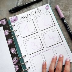 Finally spring seems to have arrived quite suddenly ! Here is the other half of my weekly. Enjoy the rest of your Sunday! . . . #bulletjournal #march #ringbinder #filofax #bujocommunity #bulletjournaling #calligraphy #handlettering #filofaxclipbook #bujolove #ringbinder #bujoinspo #weeklyspread