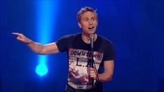 Yeah, this is a weird one, but it is so funny and touching! Russell Howard is fucking amazing! Meeerrr ;)