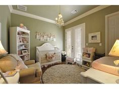 Such a chic nursery!