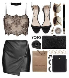 yoins by ruska-10 on Polyvore featuring polyvore, moda, style, Antonio Berardi, Louis Vuitton, ASOS, Alexander McQueen, Ray-Ban, Maison Margiela, Clarins, Bare Escentuals, shu uemura, fashion, clothing, yoins, yoinscollection and loveyoins