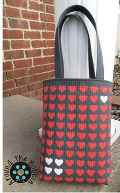 Heart to Heart Quilted Tote DIY By Lisa Amundson