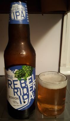 """Sam Adams Rebel Rider is a 4.5 ABV 45 IBU AIPA.  The appearance is hazy orange and the nose fresh citrus and zesty.  The flavor follows, nice balance of sweet malt and fresh citrus.  The body is light to medium and the finish crisp and clean, it's billed as a """"Session"""" IPA right on the bottle and indeed it very much is.  Maybe nothing extraordinary but you could do a lot worse for a summer barbecue or picnic beer."""