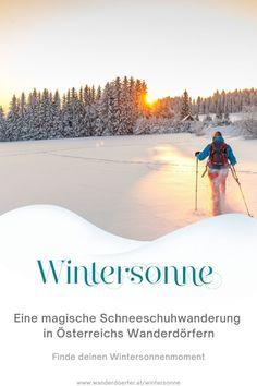 Du suchst noch ein passendes Weihnachtsgeschenk? Wie wäre es mit neuen Erlebnissen in der wunderschönen Natur von Österreichs Wanderdörfern? Habt ihr schon mal eine Schneeschuhwanderung gemacht? Nein? Dann nichts wie raus in die schönsten Schneelandschaften Österreichs. Entdeckt wo ihr eine perfekte Schneeschuhwanderung machen könnt. Foto: Shutterstock