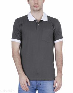 Tshirts Elegant Men's Solid Cotton Tshirt Fabric: Cotton Sleeves: Short Sleeves Are Included Size: SM L XL XXL ( Refer Size Chart ) Length- Refer Size Chart Type: Stitched Description: It Has 1 Pieces Of Men's T- Shirt's  Pattern: Solid Country of Origin: India Sizes Available: XS, S, M, L, XL, XXL   Catalog Rating: ★4 (387)  Catalog Name: Everyday Elegant Mens Solid Cotton Tshirts Vol 3 CatalogID_161229 C70-SC1205 Code: 063-1270026-0801