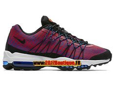 Nike Air Max 95 Ultra Jacquard Chaussures de Basketball Nike Pas Cher Pour  Homme Rouge/